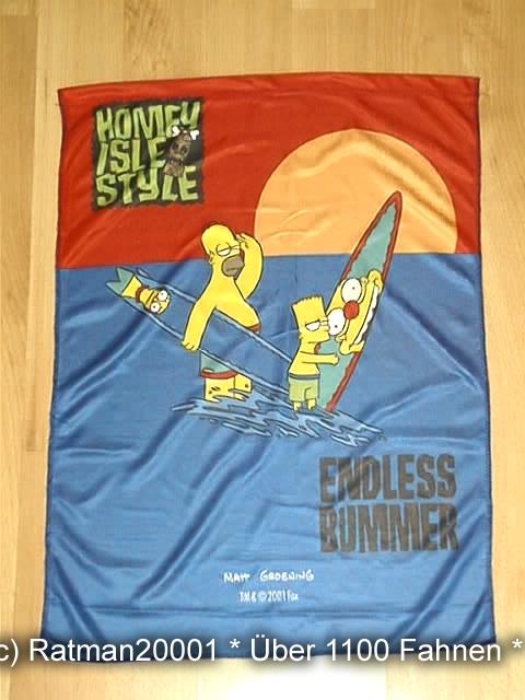 Homer Simpson und Bart 48 x 66 cm