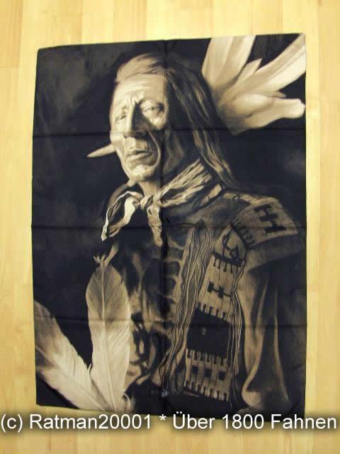 Indianer POS 132 - 75 x 107 cm
