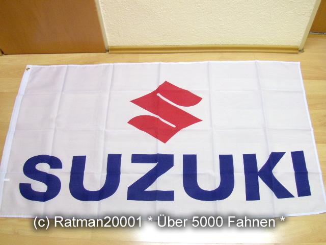 Fahnen-Flagge-Suzuki-90-x-150-cm