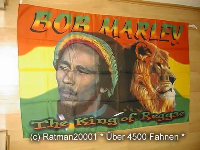 Bob Marley Loewe BT 68 93 x 148 cm