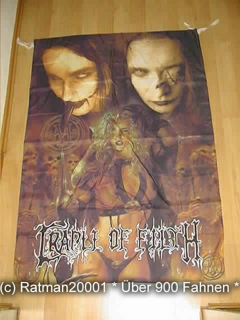 CRADLE of FILTH VD 28 - 98x136