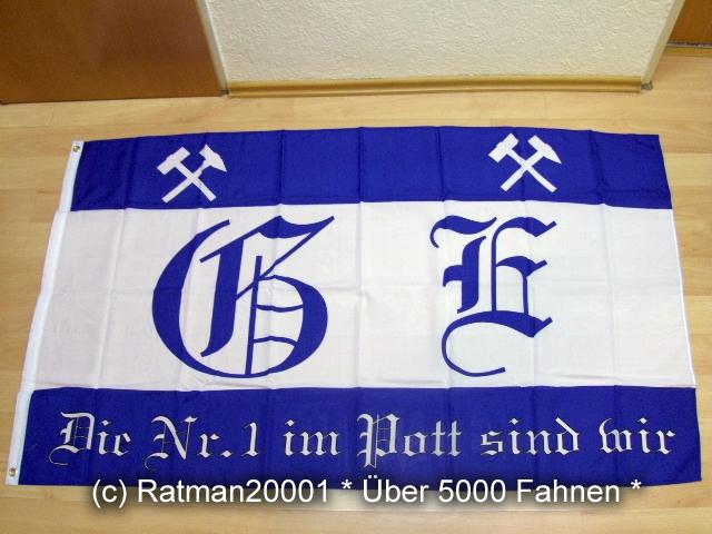 Gelsenkirchen Die NR.1 im Pott sind wir Fan - 90 x 150 cm