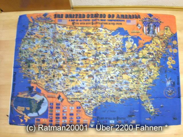 Die Staaten von Amerika - 96 x 139 cm