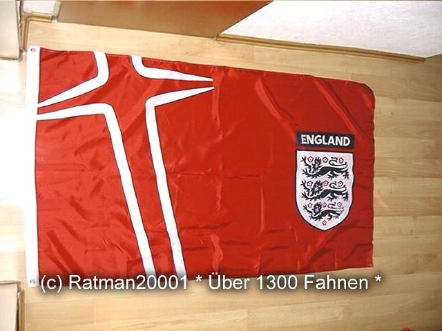 England Offiziell FA Rot - 90 x 150