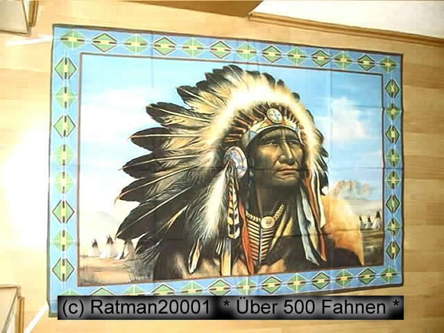 Indianer B150  95 x 135