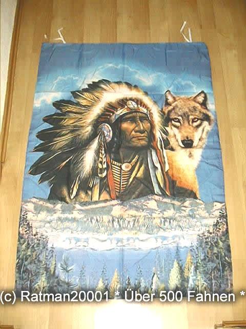 Indianer B157  95 x 135 cm