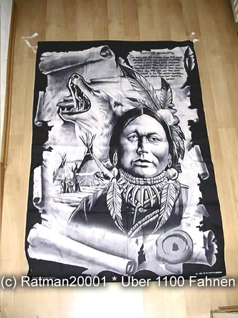 Indianer Coyote VD 46 - 95 x 135 cm