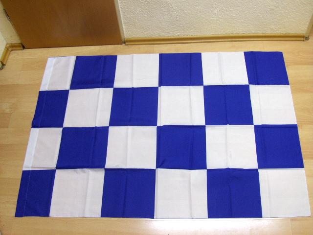 Karo Blau Weiß - 98 x 140 cm