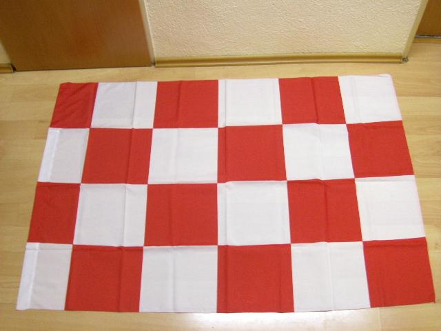 Karo Rot Weiß - 98 x 140 cm