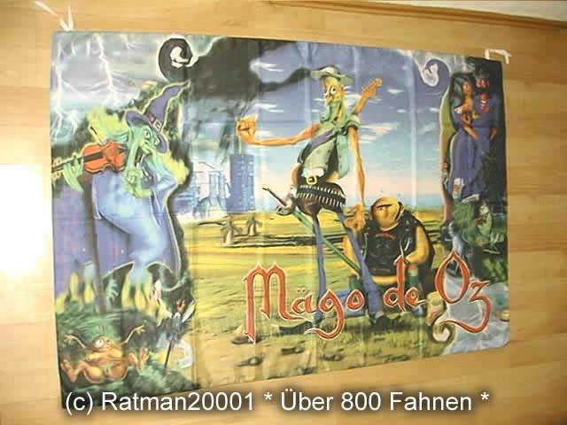 Maego de Oz BT115 - 135 x 95 cm
