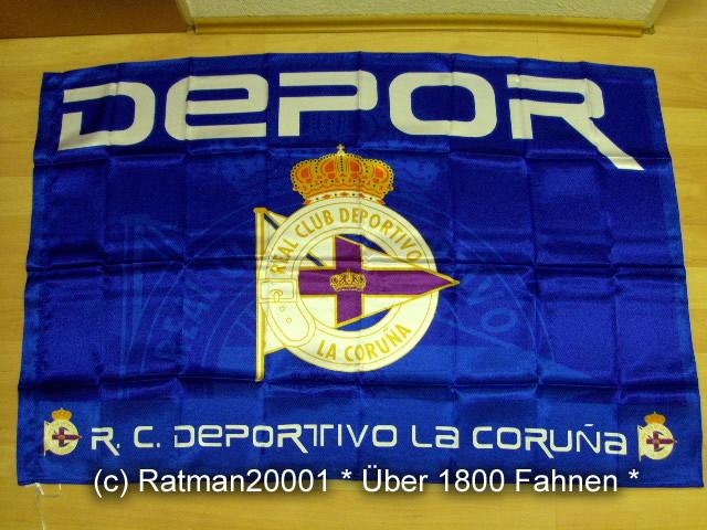 Spanien Deportivo La Coruna - 95 x 145 cm