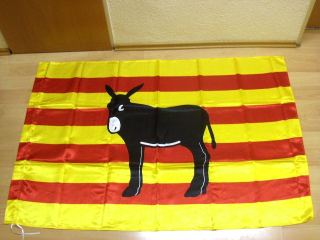 Spanien Esel - 95 x 135 cm