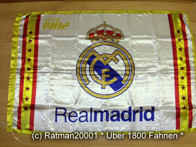 Spanien Real Madrid 1902 - 95 x 145