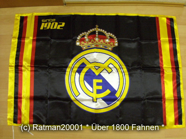 Spanien Real Madrid Schwarz - 95 x 145