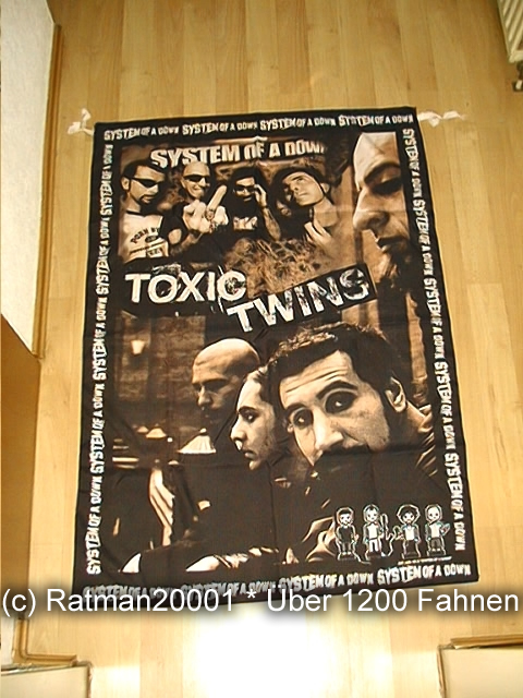 System OF A Down VD 12 - 95 x 135 cm