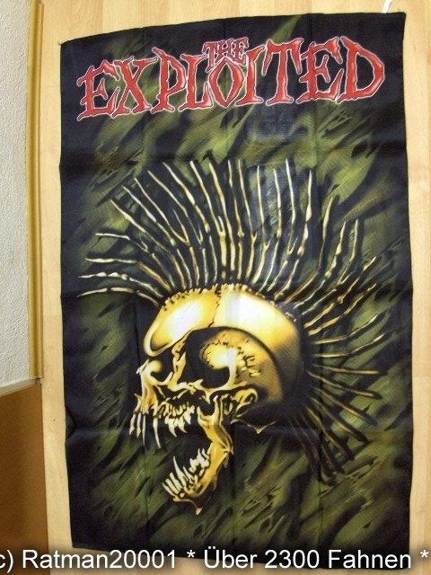 THE EXPLOITED BT 189  - 98 x 136 cm